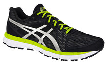 Asics Gel Hyper 33  Chaussures running asics Homme blanc/noir